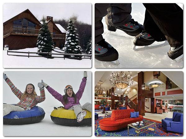 Catskills, NY: skiing, snowboarding, ice skating, snow